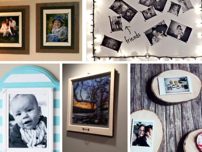 70 DIY Photo frames