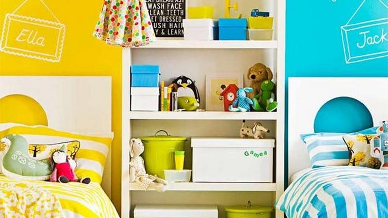 15 interesting boy and girl shared bedroom ideas rilane for Shared boy and girl room ideas