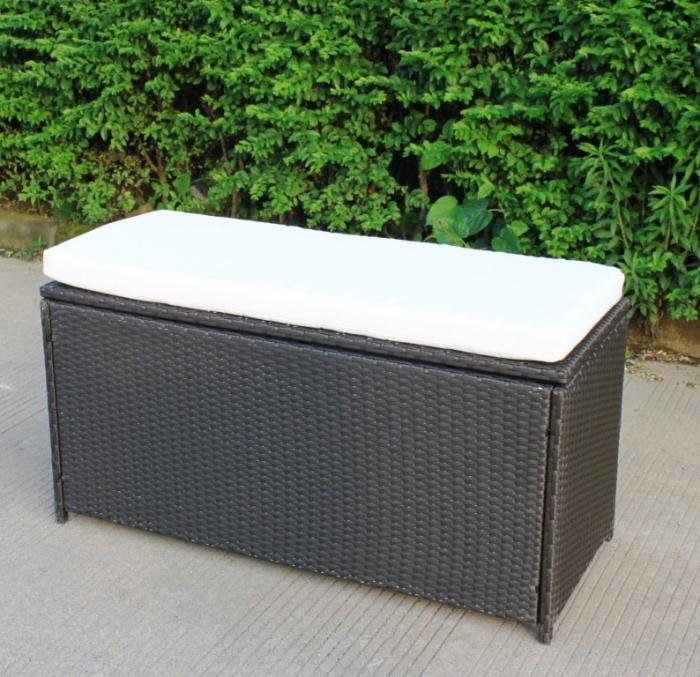 10 Functional Outdoor Storage Benches Rilane