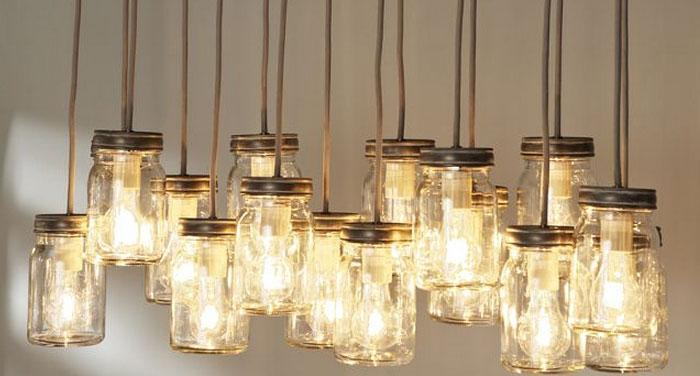 140 Diy Mason Jar U2013 Crafts, Lights, Storage, Vases, Glitter   Rilane
