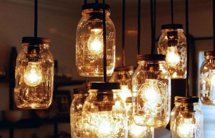 140 diy mason jar crafts lights storage vases glitter rilane solutioingenieria Gallery