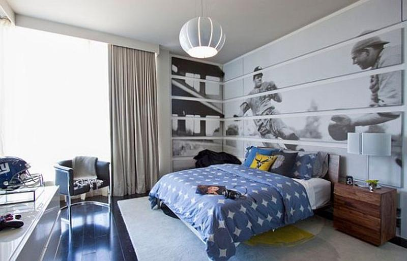baseball inspired teen bedroom - Boys Bedroom Decorating Ideas Sports