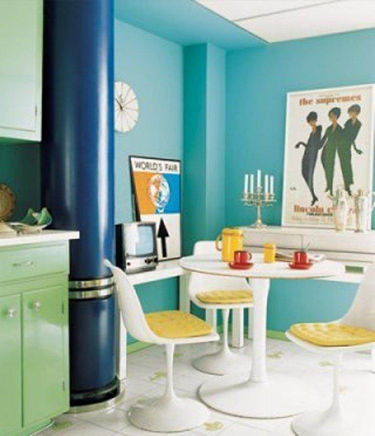 15 Unique Kitchen Designs With Bold Color Scheme