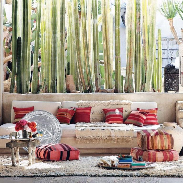Boho Hippie Patio