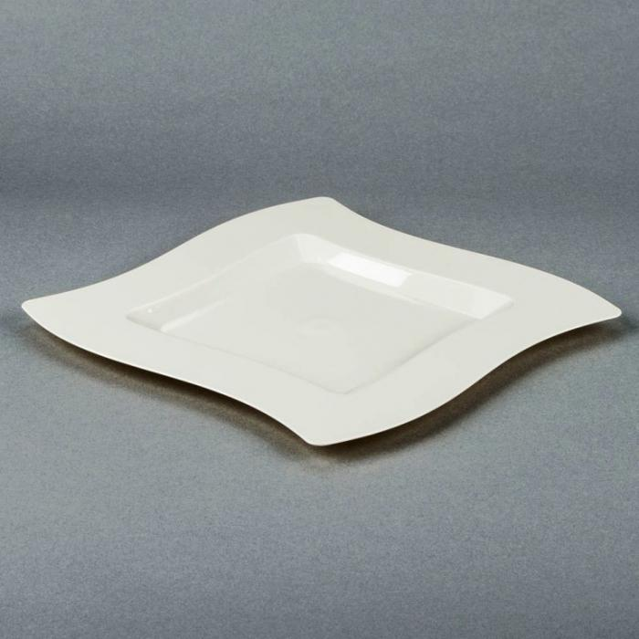 Bone Plastic Square Plate & 15 Beautiful Square Plate Designs - Rilane