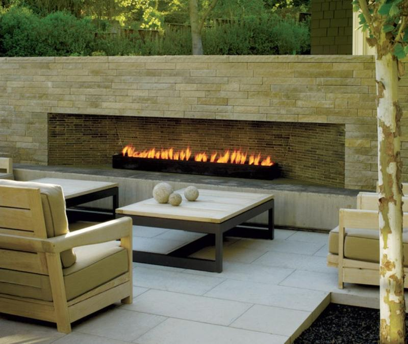 Brick Stone Contemporary Patio. 10 Contemporary Backyard Patio Designs   Rilane
