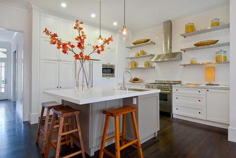 Modern Kitchen Shelves Endearing 15 Beautiful Kitchen Designs With Floating Shelves  Rilane