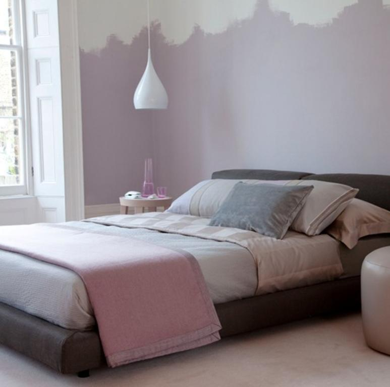 Charming Pastel Purple Bedroom Image Source Home My Design