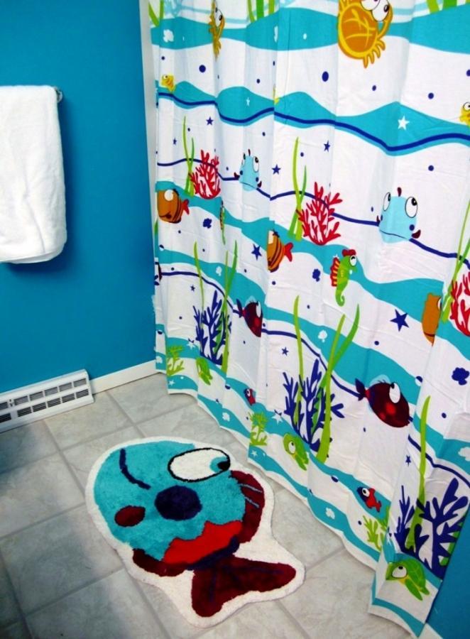 15 Wonderful Themed Shower Curtains for Kid\'s Bathroom - Rilane