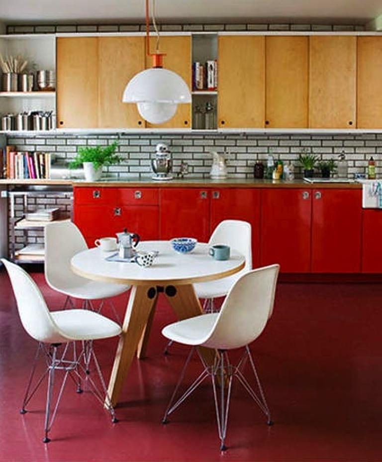 15 inspiring mid century kitchen design ideas rilane - Simple but charming mid century kitchen design ...