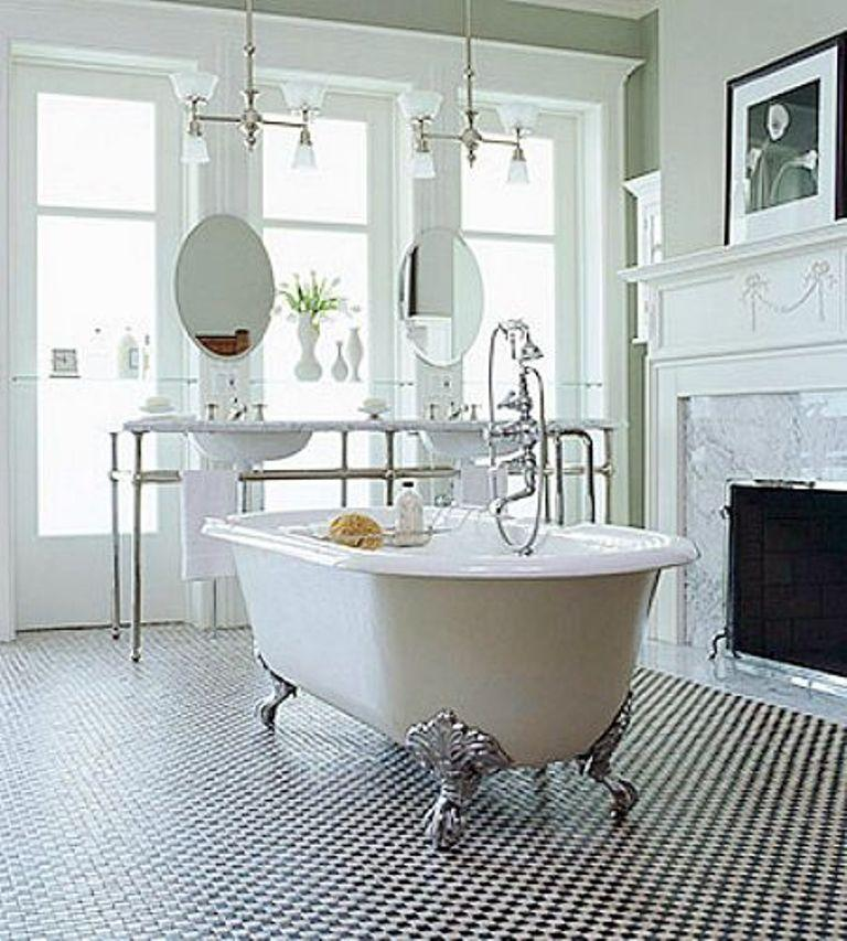 Chic Victorian Bathroom