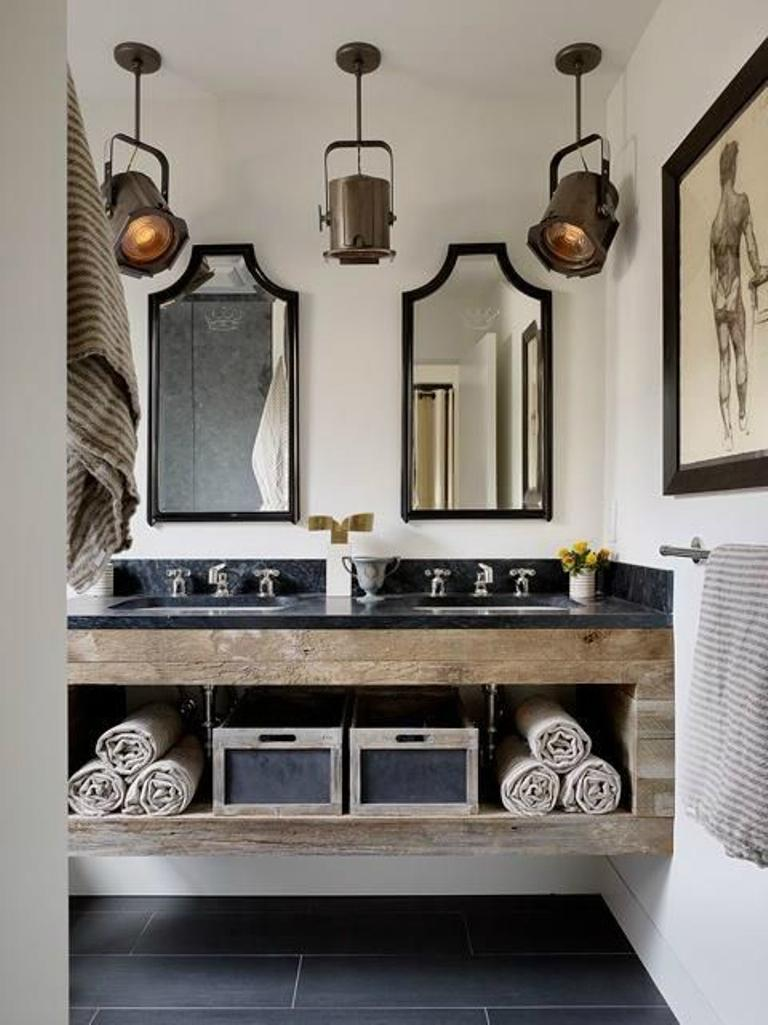 15 cool industrial bathroom design ideas - rilane
