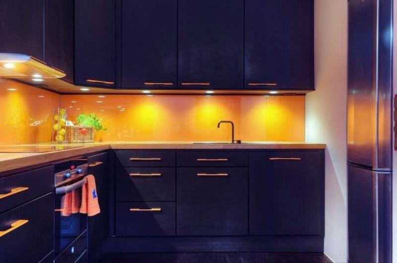 15 Unique Kitchen Designs With Bold Color Scheme Rilane