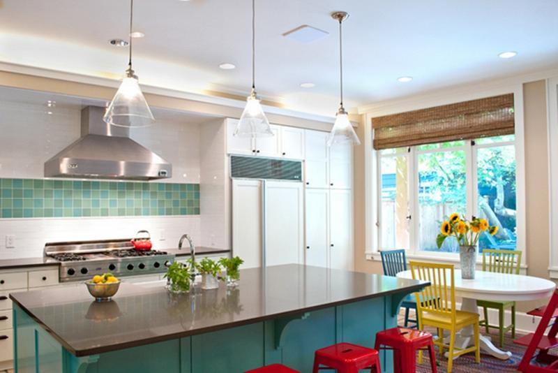 mid century modern kitchen. Colorful Mid Century Kitchen Modern