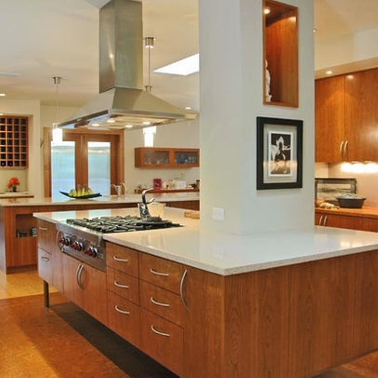 Contemporary Mid Century Kitchen