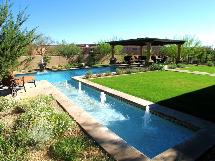 48 Awesome Swimming Pools For Small Backyards Rilane Amazing Backyard Pool Designs Exterior