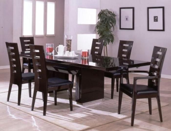 including sets chairs set room design leather dining modern white contemporary