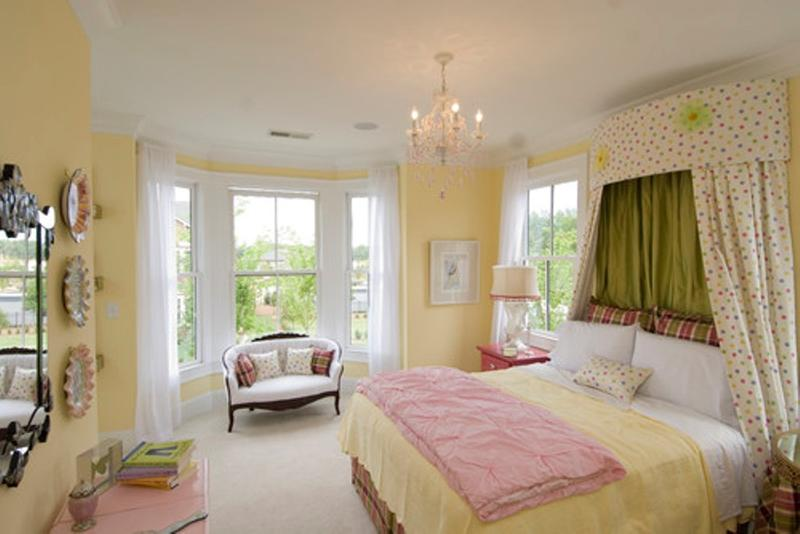 Superieur Elegant Pastel Yellow Bedroom