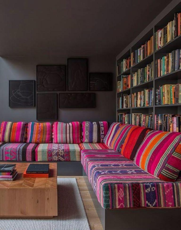 Perk The Living Room Colorful Sofa Ideas Rilane