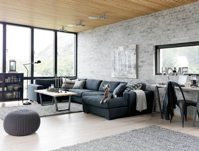 Industrial Living Room Design 15 stunning industrial living room designs - rilane