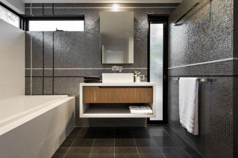 10 Sleek Floating Bathroom Vanity Design Ideas - Rilane