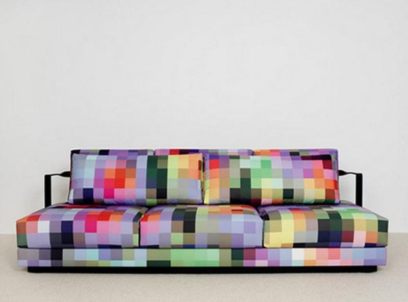 Fresh Colorful Sofa
