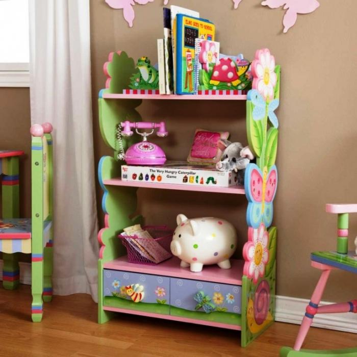 Colorful Kids Rooms: 10 Great And Colorful Kids Bookshelves