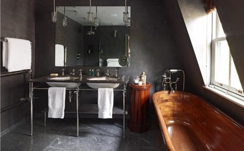 Gentil 15 Cool Industrial Bathroom Design Ideas