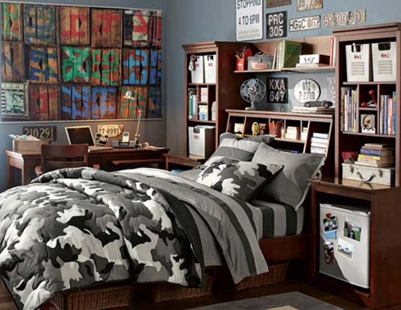 15 inspiring and fun teen boy bedroom design ideas rilane. Black Bedroom Furniture Sets. Home Design Ideas