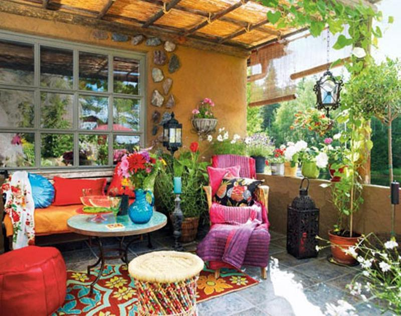 10 Whimsical Bohemian Patio Ideas Rilane
