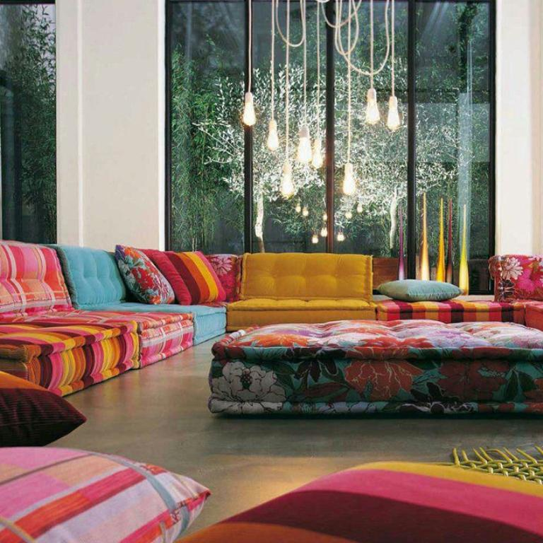 Perk Up The Living Room With 15 Colorful Sofa Ideas Rilane