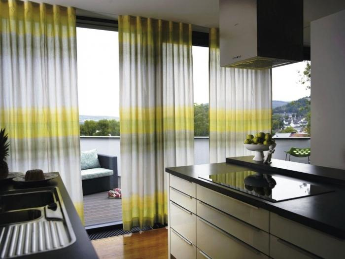 lovely outdoor curtains designing ideas in gradiation colors
