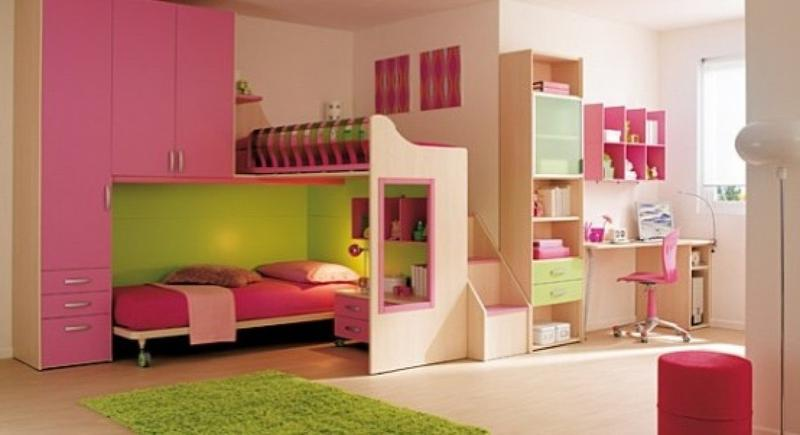 Awesome 15 Adorable Pink And Green Bedroom Designs For Girls