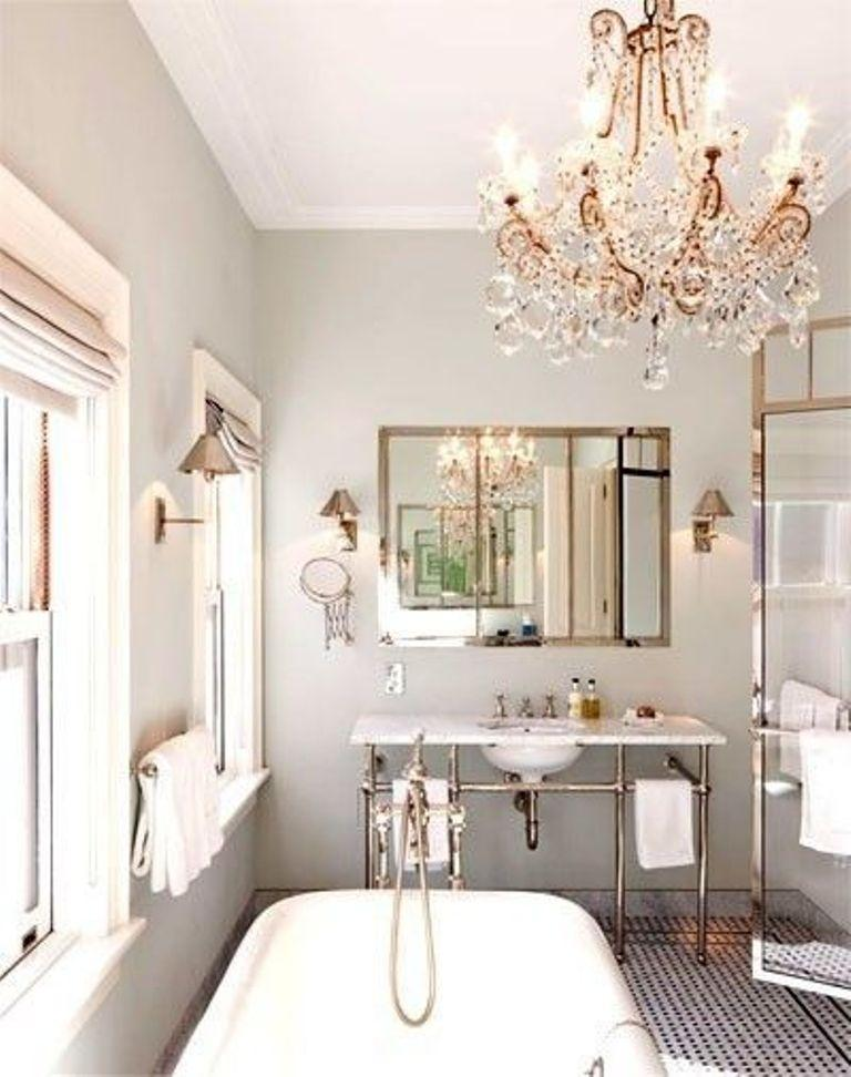 Bathroom Chandelier Lighting Ideas 15 wondrous victorian bathroom design ideas - rilane