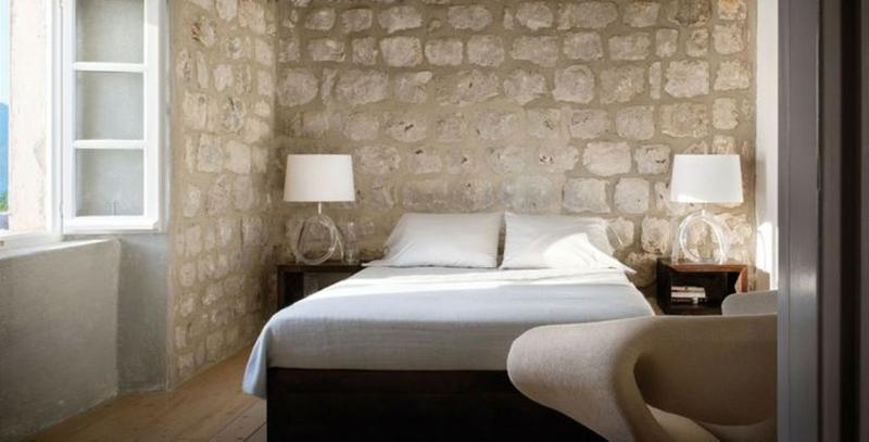 15 Natural Bedrooms with Stacked Stone Wall - Rilane