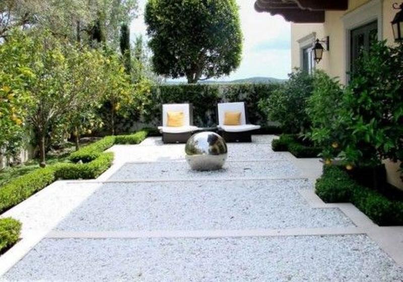 Contemporary Backyard 10 contemporary backyard patio designs - rilane