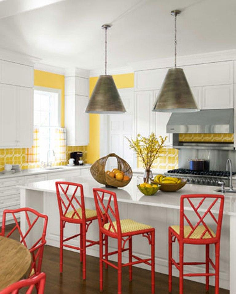 Superbe 10 Lively Colorful Kitchen Chair Ideas