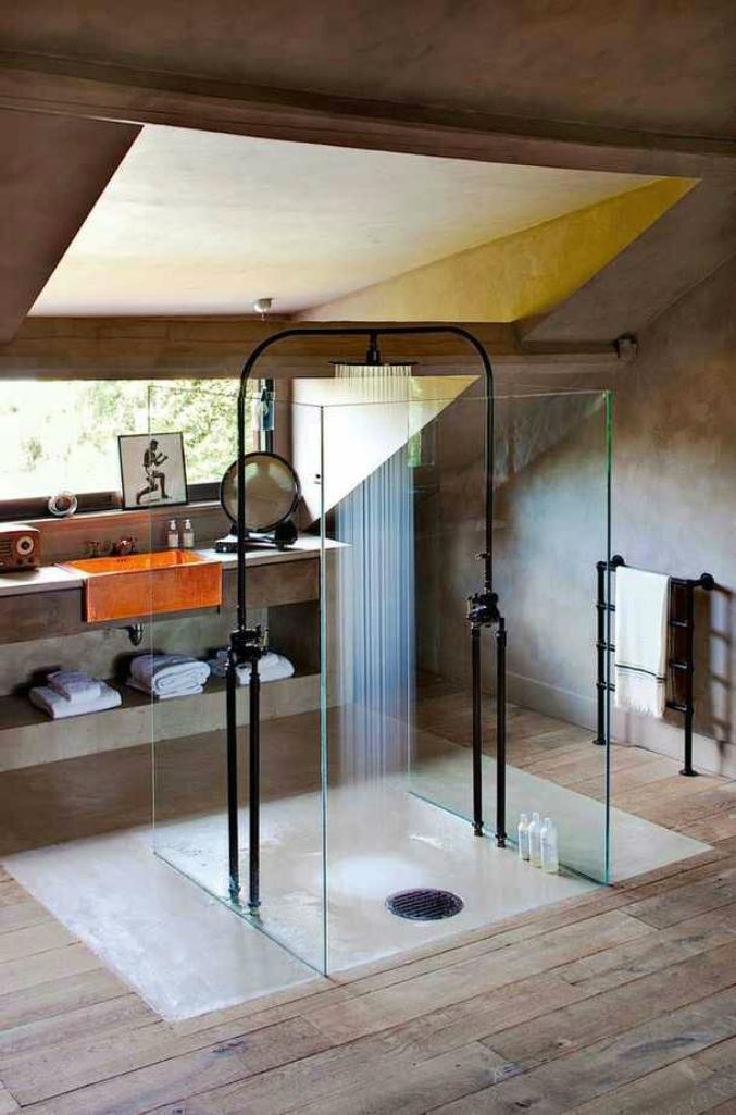 Modern Industrial Bathroom Part 31