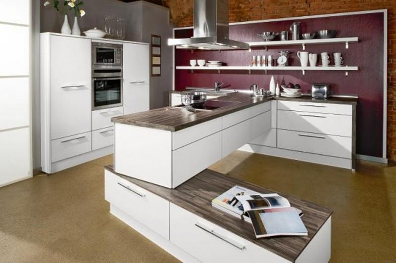 Modern Kitchen Shelves Impressive 15 Beautiful Kitchen Designs With Floating Shelves  Rilane
