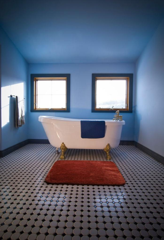 10 Interesting And Fun Bathroom Area Rugs