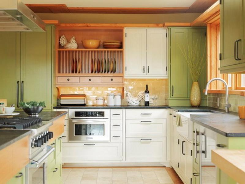 15 Unique Kitchen Designs with Bold Color Scheme Rilane