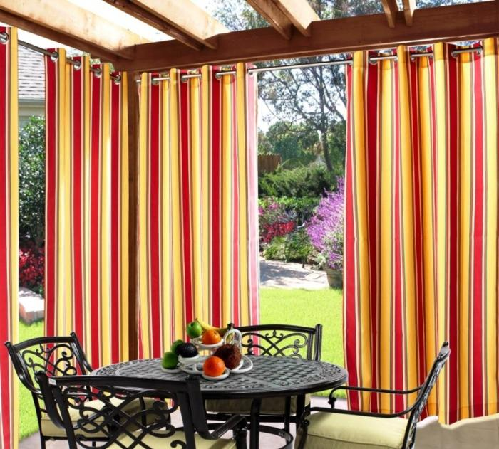 10 Relaxing Outdoor Curtain Designs Rilane