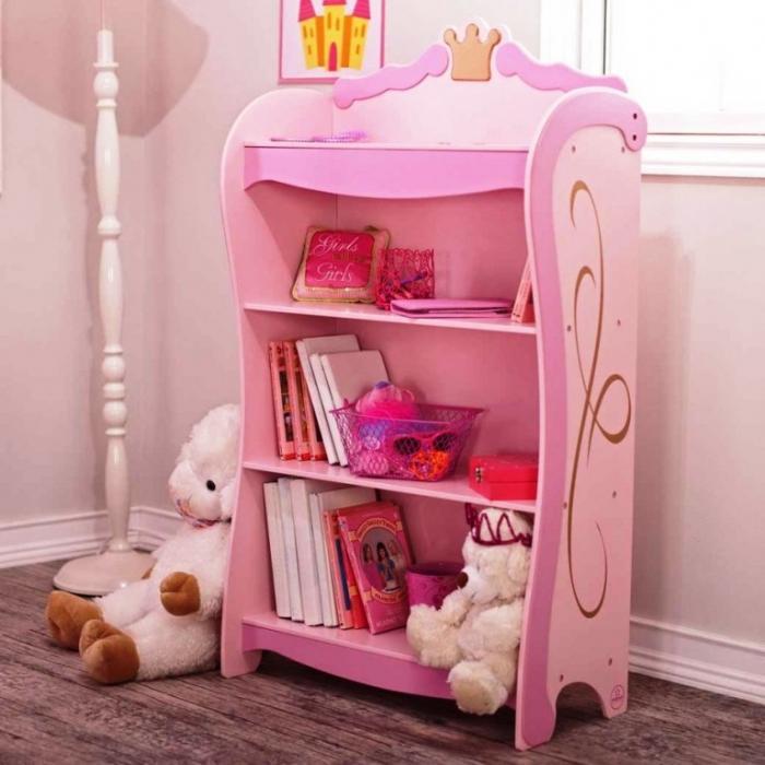 Pink Princess Kid S Bookshelf