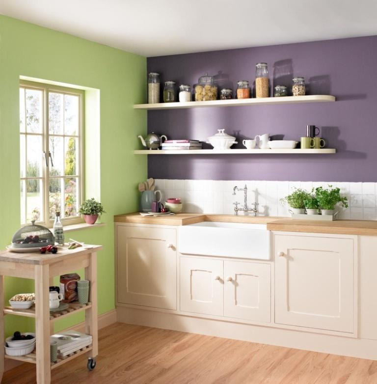 Kitench Colors: 15 Unique Kitchen Designs With Bold Color Scheme