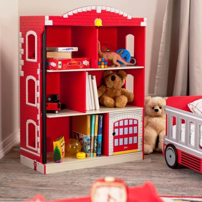 Red Brick Kids Bookshelf