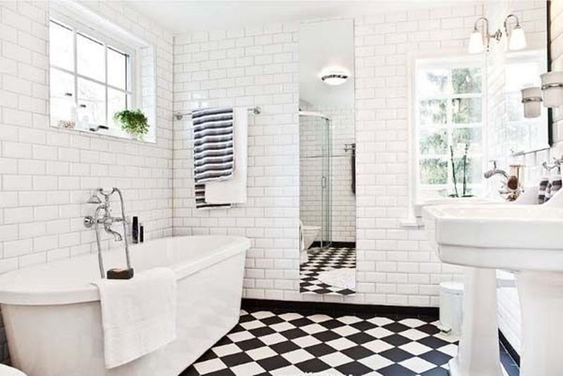 Refreshing Black And White Bathroom 15 Contemporary Ideas  Rilane