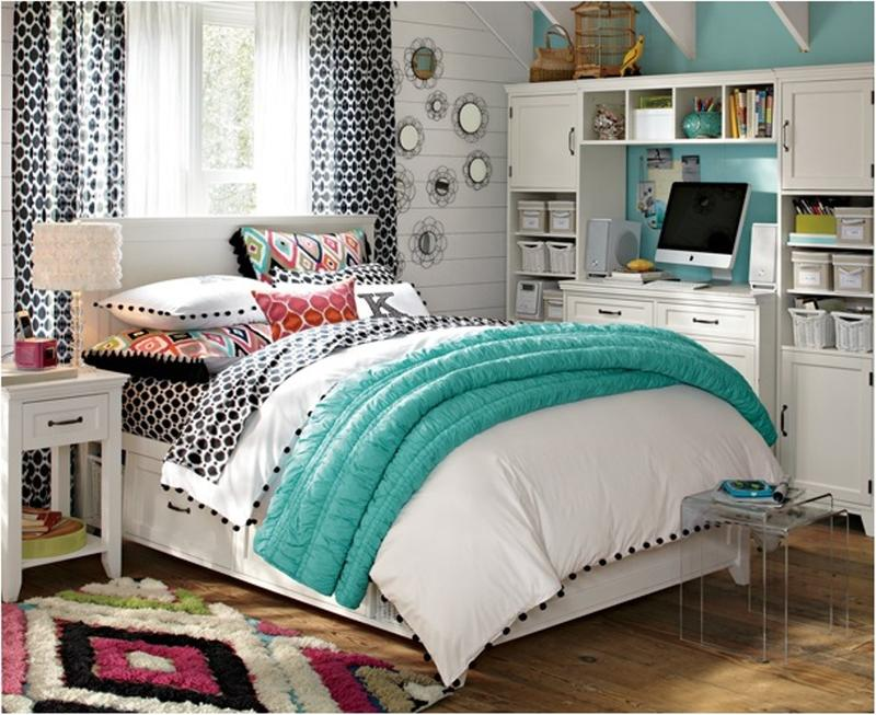 15 Teen Girl\u0027s Bedroom Ideas to Inspire : teen-room-pictures - designwebi.com