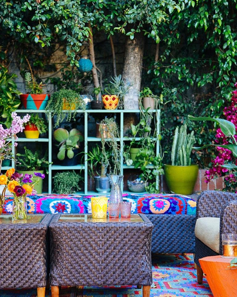 Outdoor Moroccan Decor Design Ideas: 10 Whimsical Bohemian Patio Ideas