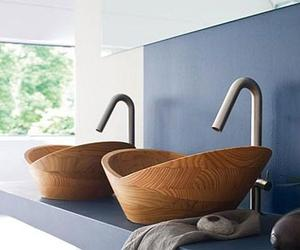 10 Dashingly Natural Wooden Bathroom Sinks