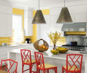 10 Lively Colorful Kitchen Chair Ideas